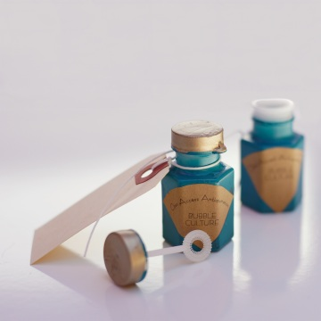 The travel bubble bottles for the OAA Kickstarter Campaign.