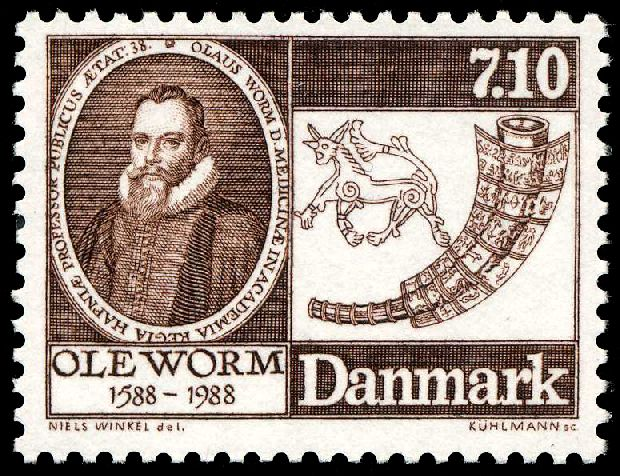 The 1988 stamp commemorating the awesomeness of Ole Worm.